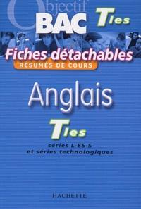 Anglais Terminales Series L Es S Et Series Technologiques