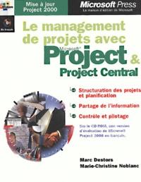 Deedr.fr Le management de projets avec Project & Project Central. Avec CD-ROM Image