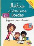 Marie-Christine Olivier - Méthode d'écriture Bordas - J'apprends à écrire à la maison.