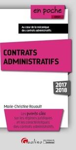 Marie-Christine Rouault - Contrats administratifs.