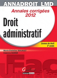 Deedr.fr Droit administratif - Annales corrigées Image