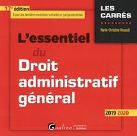 Deedr.fr L'essentiel du Droit administratif général Image