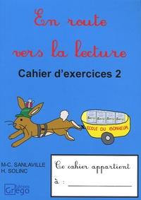 Marie-Christine Sanlaville et Hélène Solinc - En route vers la lecture CP - Tome 2, Cahier d'exercices.