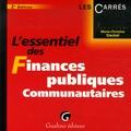 Marie-Christine Steckel - L'essentiel des Finances publiques communautaires.