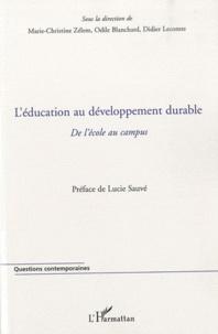 Léducation au développement durable - De lécole au campus.pdf