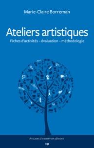 Marie-Claire Borreman - Ateliers artistiques.