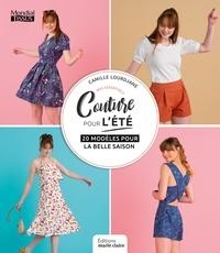 Marie Claire - Coudre pour l'été - 24 modèles du 36 au 44.