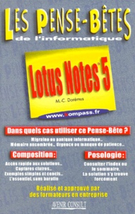 Marie-Claire Dorémus - Lotus Notes 5.