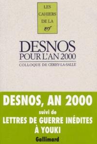 Marie-Claire Dumas et Robert Desnos - .