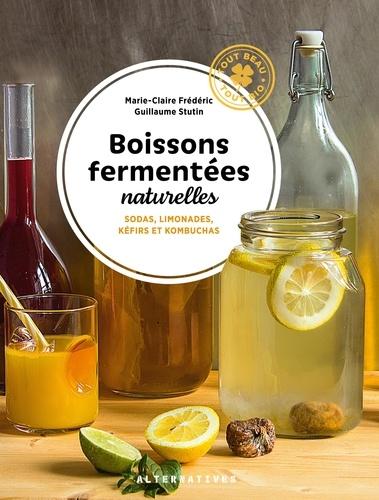 Boissons fermentées naturelles. Sodas, limonades, kéfirs et kombuchas