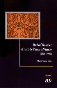 Checkpointfrance.fr Rudolf Kassner et l'art de l'essai à Vienne (1900-1906) Image