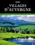 Marie-Claire Ricard et Hervé Monestier - Villages d'Auvergne.