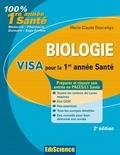 Marie-Claude Descamps - Biologie - Visa pour la 1e année Santé.
