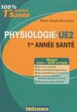 Marie-Claude Descamps - Physiologie UE2 1re Année santé.