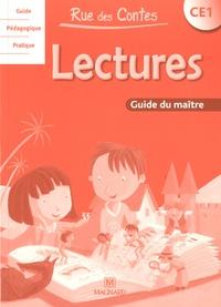 Marie-Claude Duval-Vasseur - Lectures CE1 Rue des Contes - Guide du maître.
