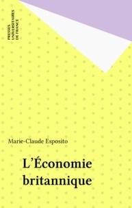 Marie-Claude Esposito - L'économie britannique.