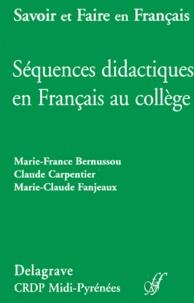 Marie-Claude Fanjeaux et Claude Carpentier - .