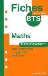 Deedr.fr Maths BTS comptabilité et gestion des organisations Image