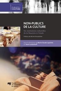 Marie-Claude Lapointe et Jason Luckerhoff - Non-publics de la culture - Six institutions culturelles de la Mauricie à l'étude.