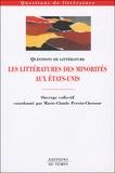 Marie-Claude Perrin-Chenour - Les littératures des minorités aux Etats-Unis.