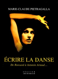 Ecrire la danse. De Ronsard à Antonin Arthaud....pdf