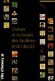 Marie-Claude Rayssac - Trésors et richesses des Archives municipales.