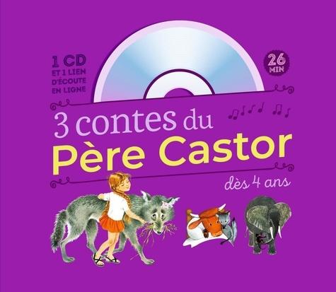 3 contes du Père castor à écouter  avec 1 CD audio