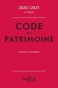 Marie Cornu et Vincent Négri - Code du patrimoine - Annoté et commenté.