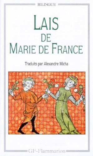 Marie de France et Alexandre Micha - Lais de Marie de France.