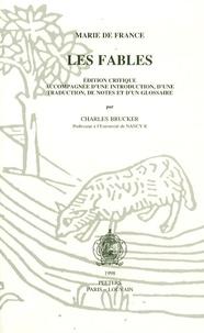 Marie de France - Les Fables - Edition critique.