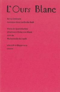 Marie de Quatrebarbes - 58 lettres à Ulrike von Kleist.