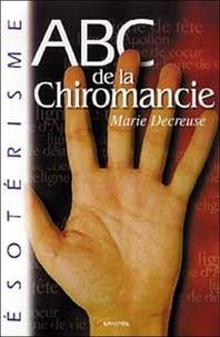 Marie Decreuse - ABC de la chiromancie.