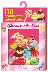 Marie Desbons - Bonbons et gâteaux - Avec 110 gommettes autocollantes.