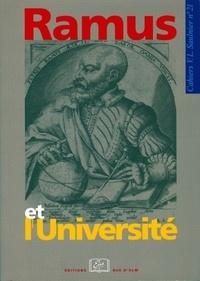 Marie-Dominique Couzinet et Jean-Marc Mandosio - Ramus et l'université.