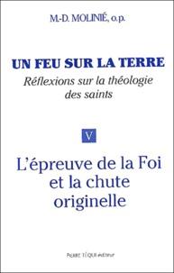 Marie-Dominique Molinié - Un feu sur la terre - Tome 5, L'épreuve de la Foi et la chute originelle.