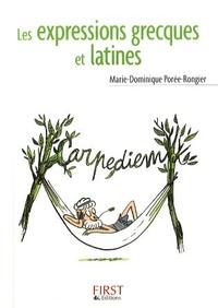 Marie-Dominique Porée-Rongier - Les expressions grecques et latines.