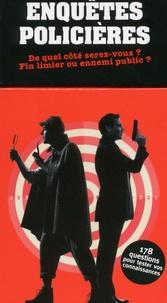Ebook pour le téléchargement de PC Enquêtes policières  - De quel côté serez-vous ? Fin limier ou ennemi public ? par Marie Dos Santos Barra MOBI RTF (French Edition)