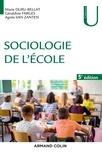Marie Duru-Bellat et Géraldine Farges - Sociologie de l'école.