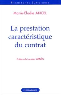 Marie-Elodie Ancel - .