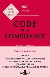Marie-Emma Boursier et William Feugère - Code de la compliance.