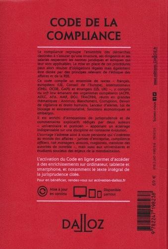 Code de la compliance  Edition 2021