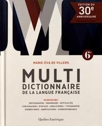 Marie-Eva de Villers - Multidictionnaire de la langue française.