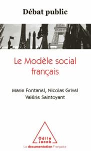 Marie Fontanel et Nicolas Grivel - Débat public : le modèle social français.