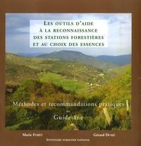 Marie Forêt - Les outils d'aide à la reconnaissance des stations forestières et au choix des essences - Méthode de recommandations pratiques ou Guide-âne.