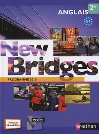 Marie Fort-Couderc et François Guary - Anglais 2e New Bridges - Programme 2010 B1. 1 CD audio