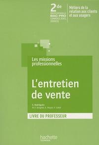 Lentretien de vente 2de Bac Pro commerce, vente, services - Livre du professeur.pdf