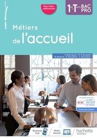 Marie-France Borgnet et Béatrice Maigret - Métiers de l'accueil 1re-Tle Bac Pro.