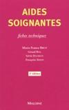 Marie-France Brun - Aides-soignantes - Fiches techniques, 2ème édition.