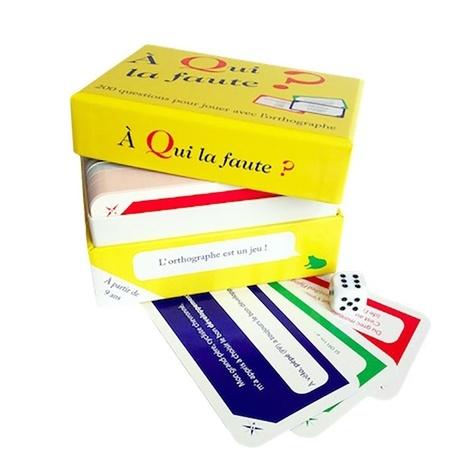 Marie-France Claerebout - A qui la faute ? - 200 questions pour jouer avec l'orthographe.