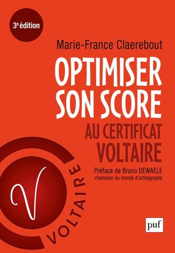 Marie-France Claerebout - Optimiser son score au Certificat Voltaire.